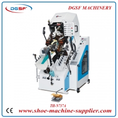 9 Pincers Hydraulic Shoe Toe Lasting Machine N737A